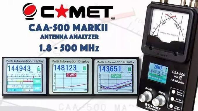 您的天线检测助手  COMET 天线分析仪 CAA-500MARKII