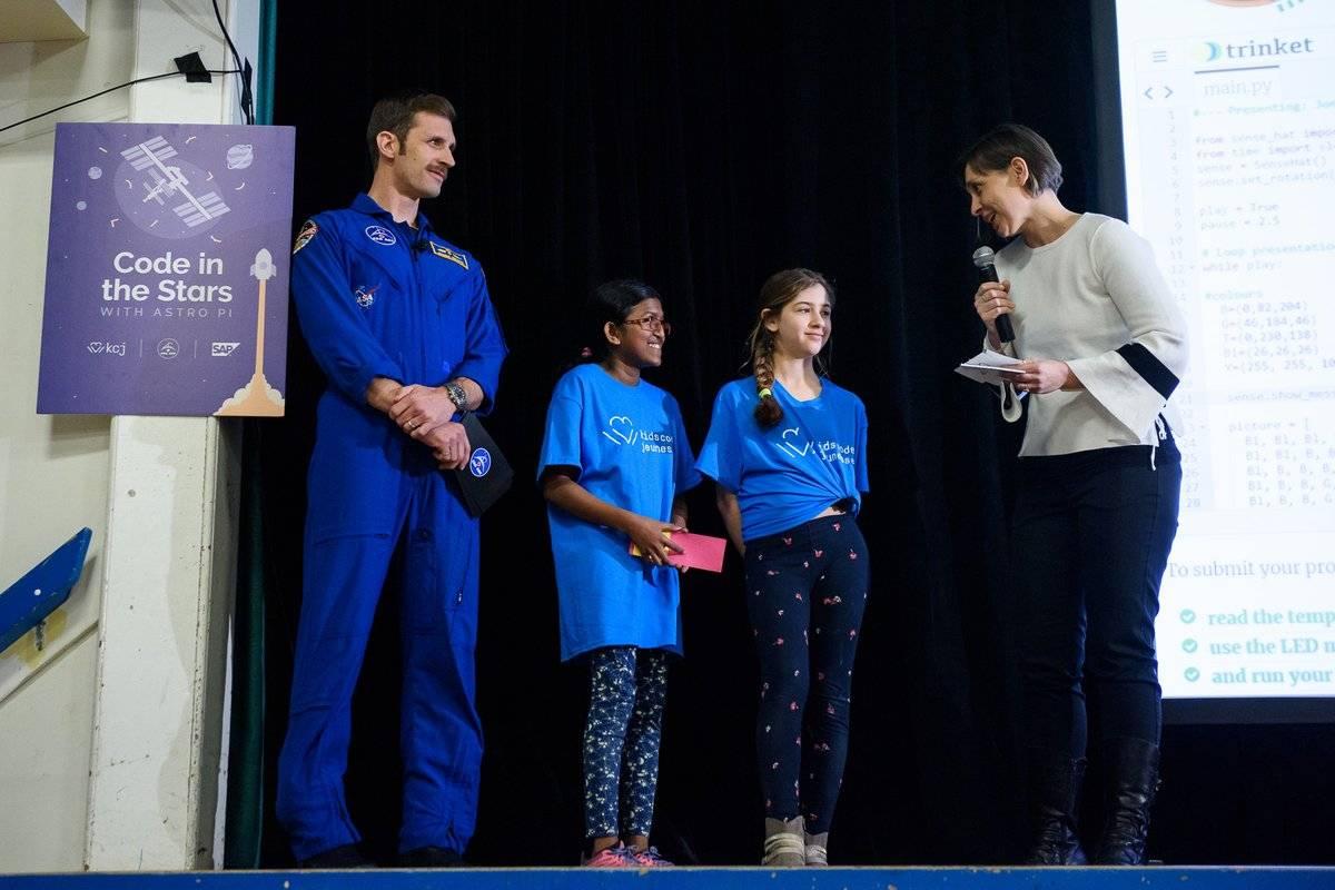 业余界:宇航员向加拿大年轻人发起Astro Pi挑战