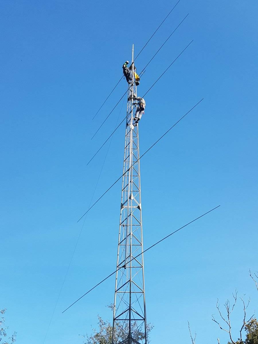 业余界:OT5A的5单元全尺寸20米波段八木天线