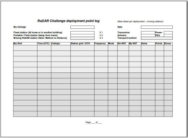 业余界:RaDAR挑战赛将于11月3日举办