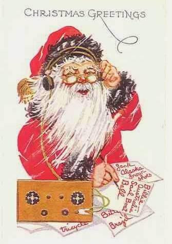 业余界:孩子们可以与圣诞老人通联,直到平安夜的到来!