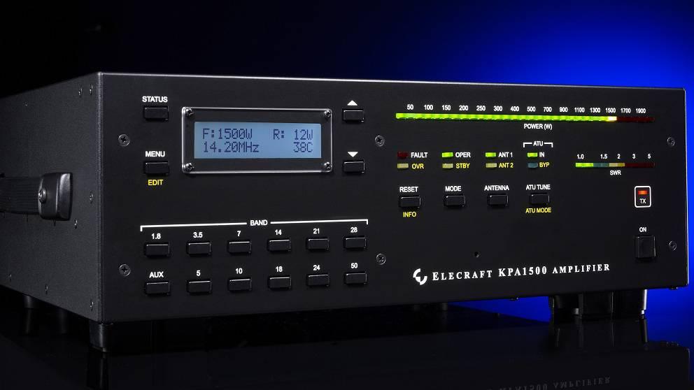 新品|Elecraft  KPA1500短波功率放大器