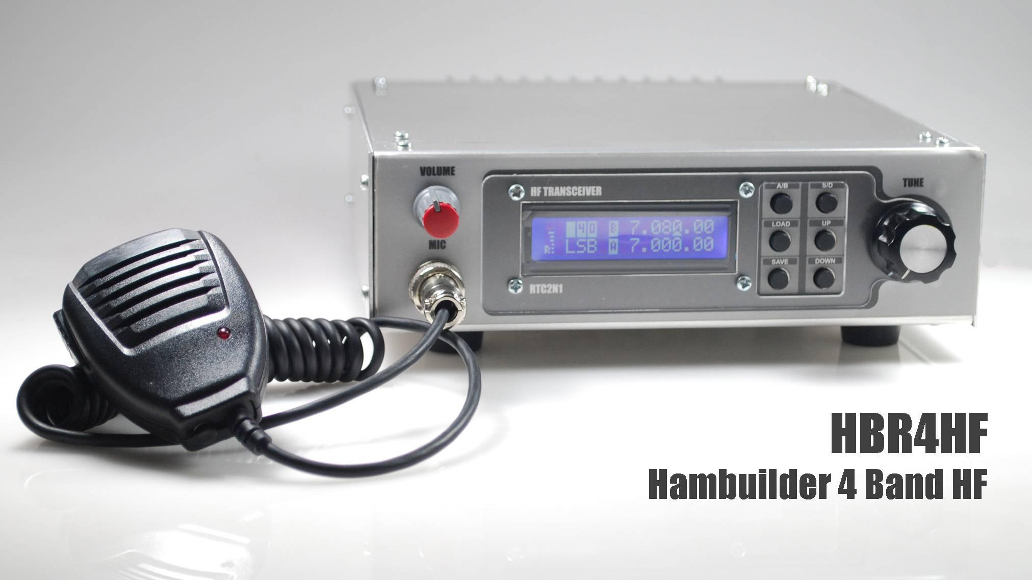 Hambuilder HBR4HF 4波段短波收发信机