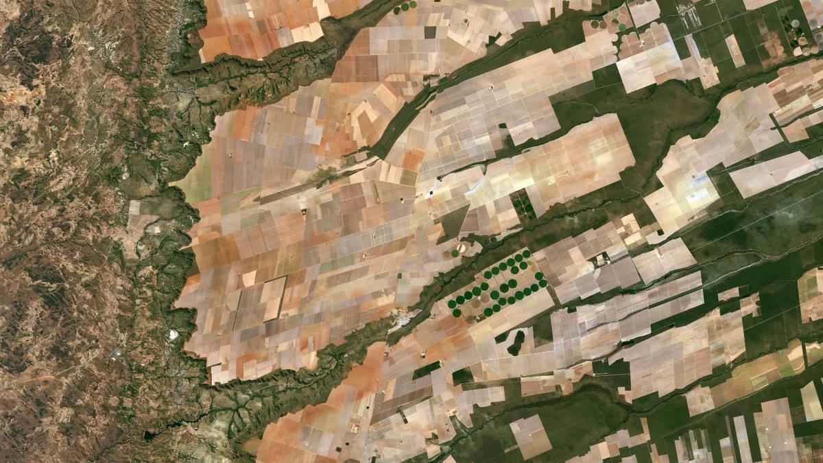图片|遥感照片助力中东农业发展