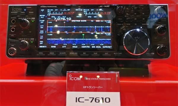 毒物之2016东京业余无线电节新品:ICOM艾可慕