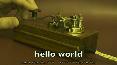 我今天才知道:摩尔斯电码不是摩尔斯发明的