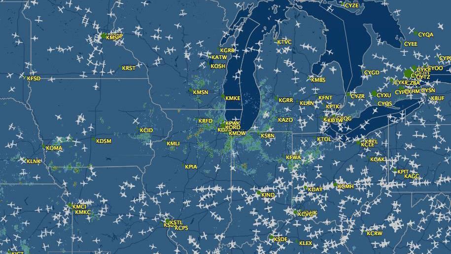 用SDRPlay RSP1跟踪ADS-B航空位置信息