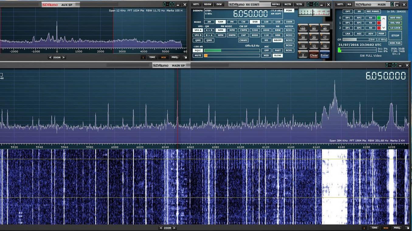 SDRPlay RSP1做各种收音机