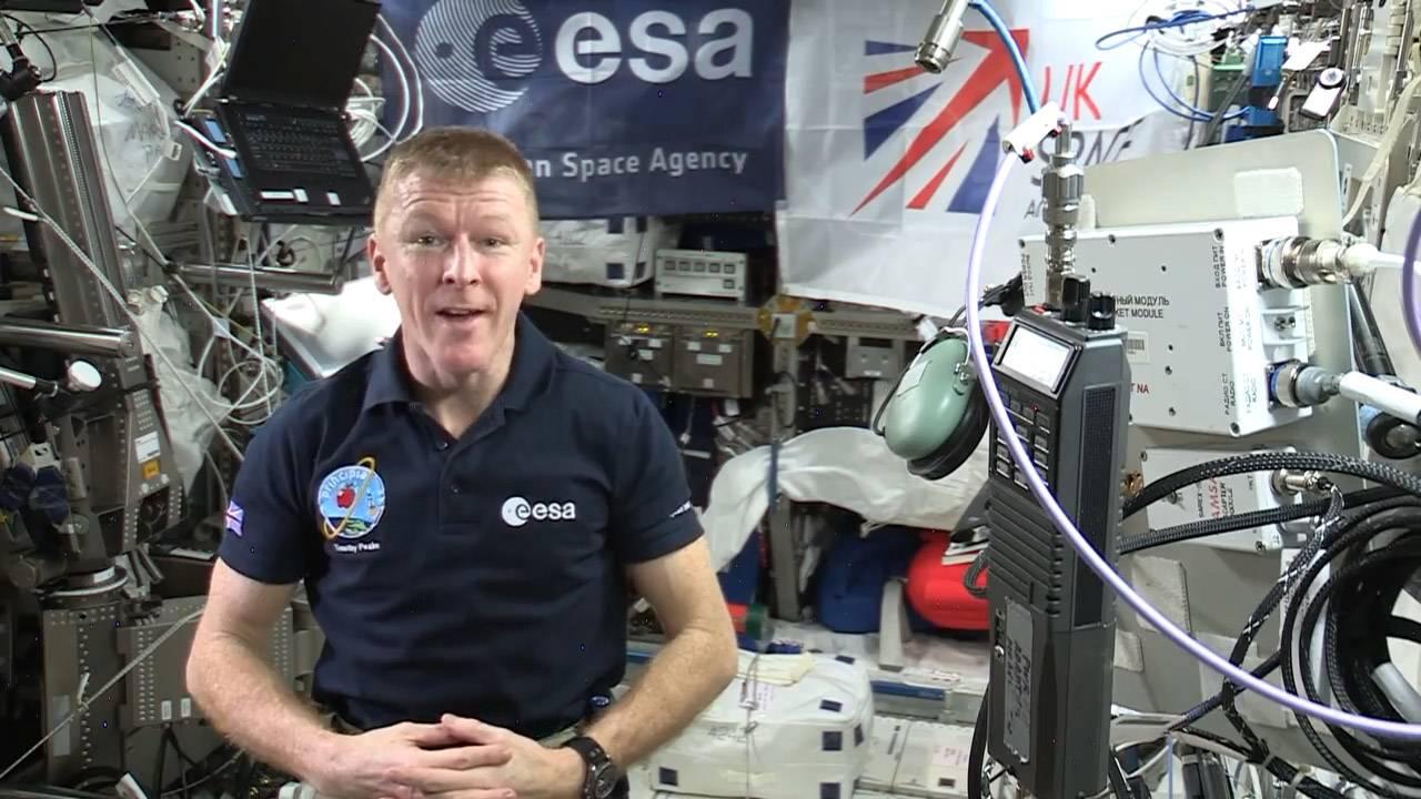 国际空间站宇航员Tim Peake, KG5BVI谈天地对话